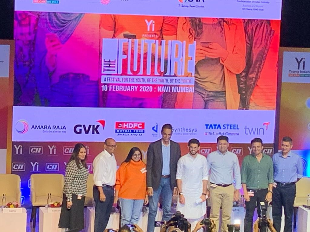 CII-Yi The Future is here ,Sessions on City of the Future -Woven City,Future of Gaming at CIDCO Convention Centre ,Navi Mumbai