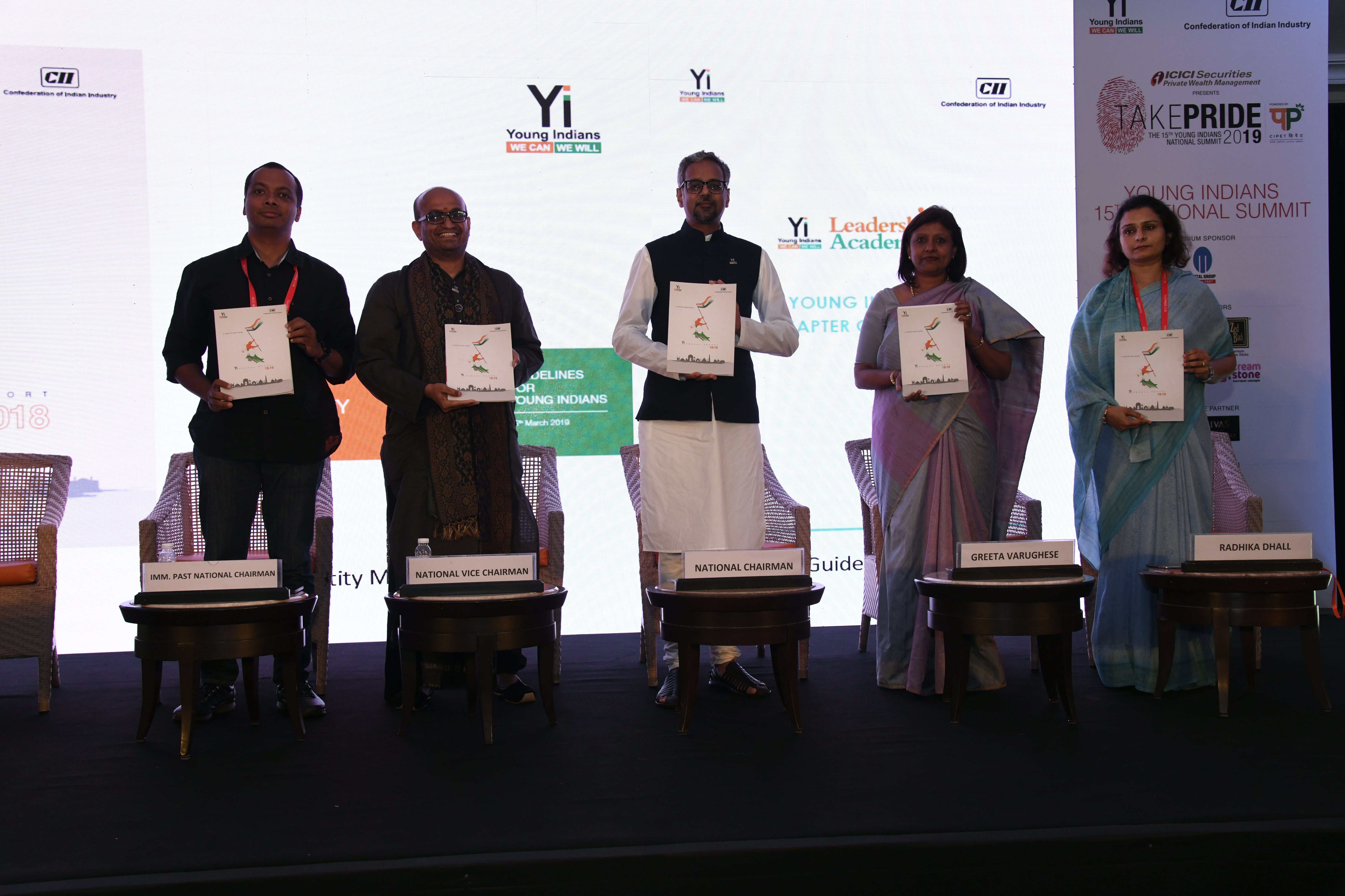 Release of Yi National Annual Report 2018-19
