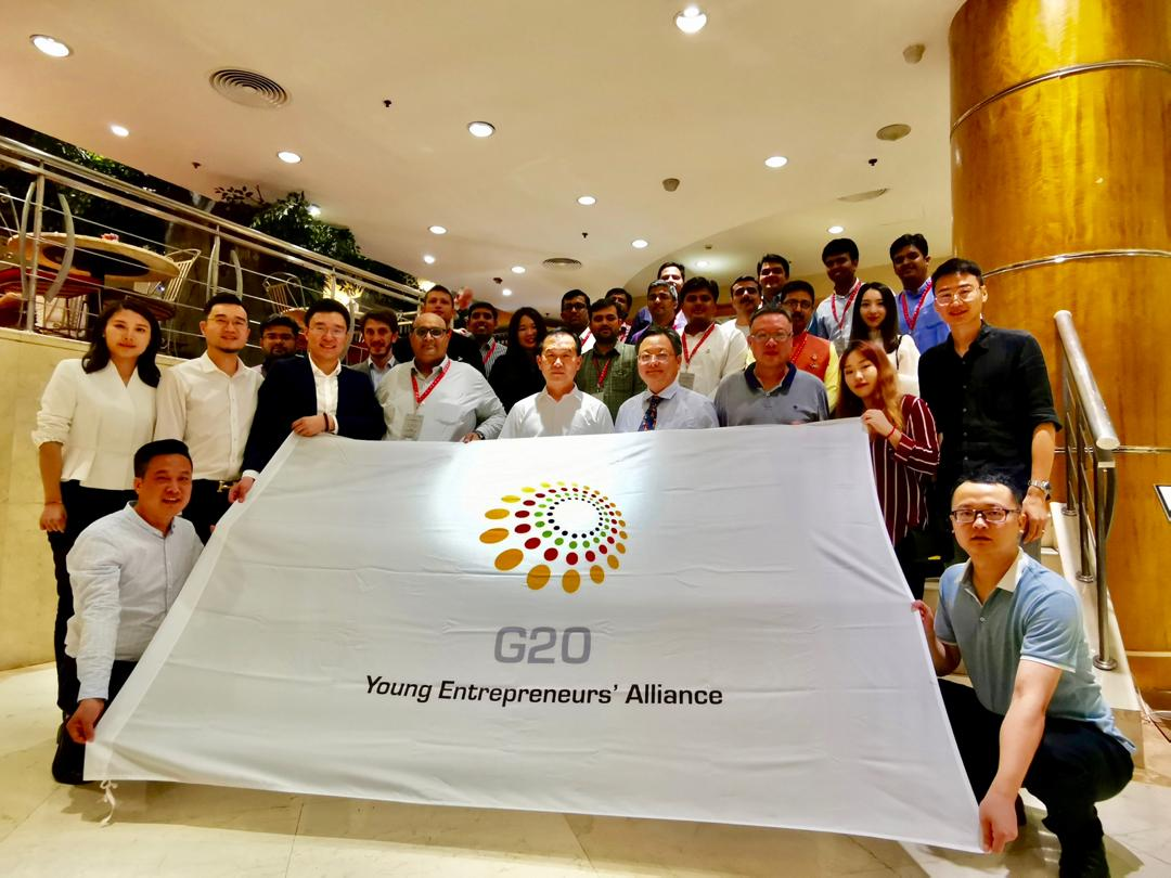 Yi Global Excellence Mission - China 2019 : Delegates Interaction with G20 YEA China Members.
