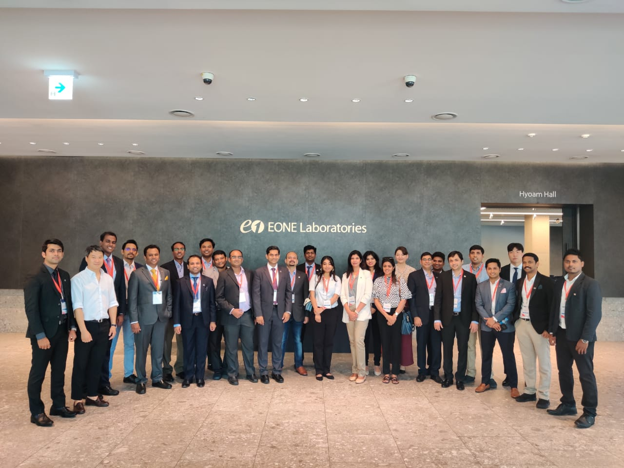Yi Global Excellence Mission to the Republic of Korea 25-30 August 2019, Visit to Eone-Diagnomics Genome Center-EDGC,Incheon