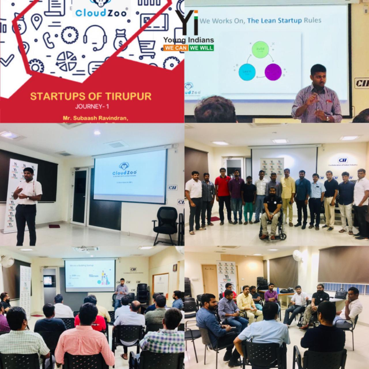 Yi Tiruppur Session on Startups Of Tiruppur