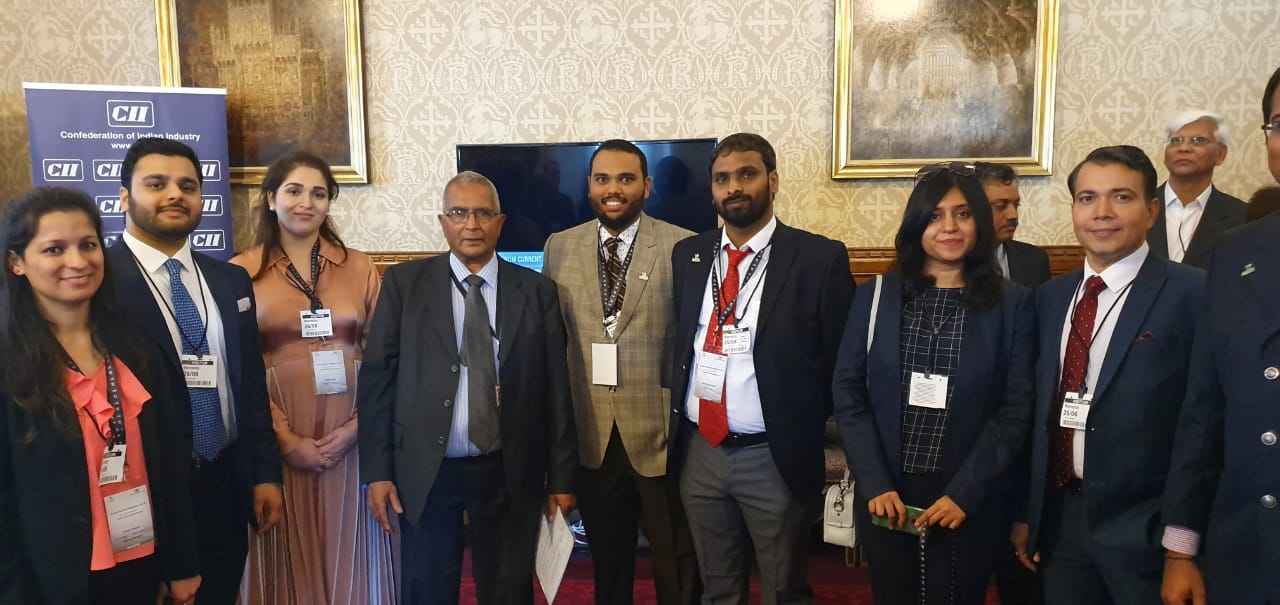 Yi Delegation at London at the Parliamentary Reception on UK-India relations:Celebrating the Living Bridge 