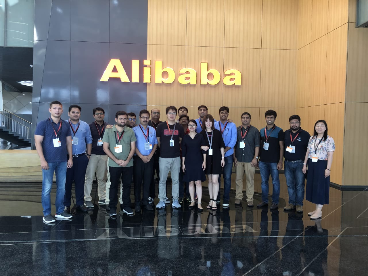 Yi Global Excellence Mission - China - Learning Visit to Alibaba Group, China